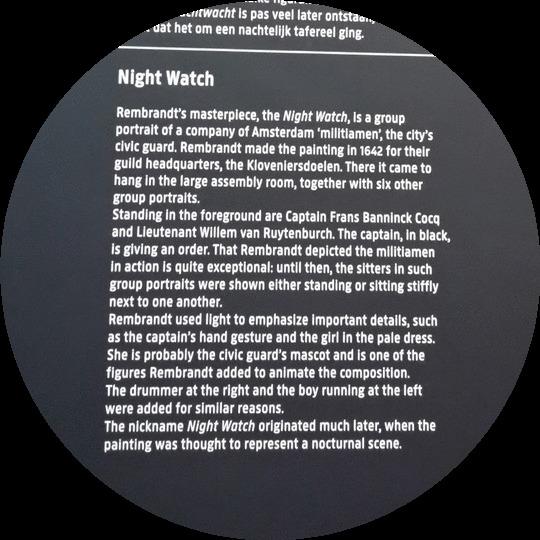 night watch Rembrandt