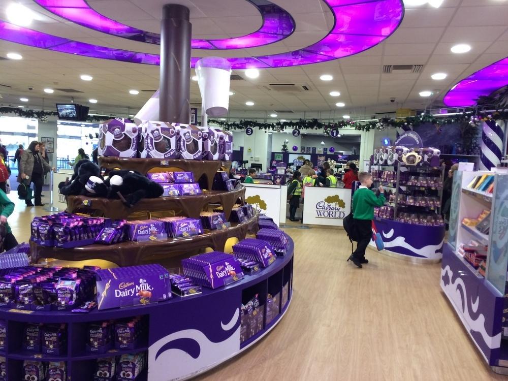 Cadbury shop