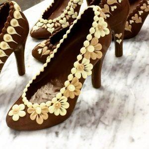 chocolate shoes Cadbury World
