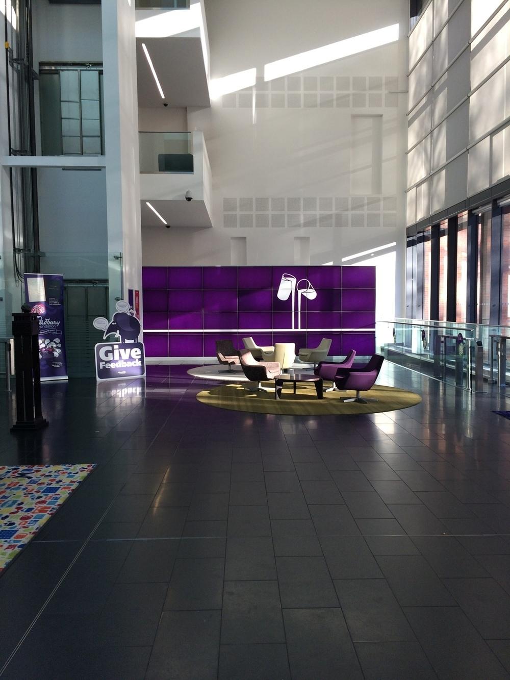 Cadbury World administrative building