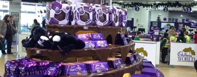 În vizită la fabrica de ciocolată – Cadbury World