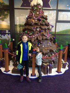 Cadbury World Christmas Tree