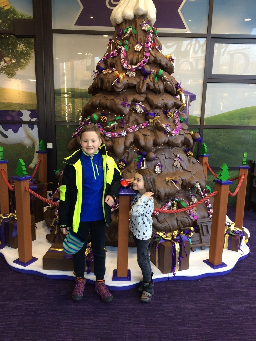 Cadbury World Christmas Tree