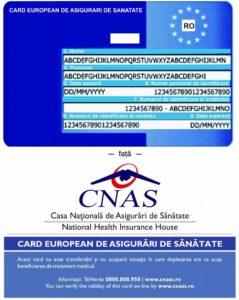 card european de sanatate