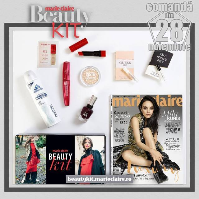 beauty kit Marie Claire