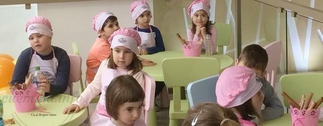 Atelier pentru copii la Cofetăria La Naomi