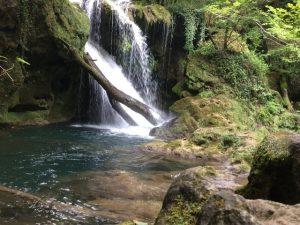 cascadă Parcul Național Cheile Nerei