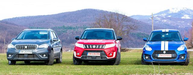 Test drive cu Suzuki