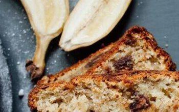 banana bread cu pudra proteica