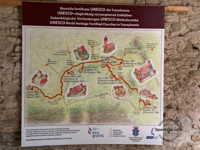 Biserici fortificate UNESCO din Transilvania